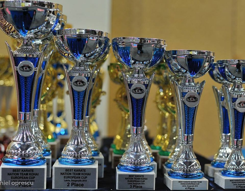 5th SKDUN European Karate Championship & Kohai Cup , Latvia 2015 – RESULTS