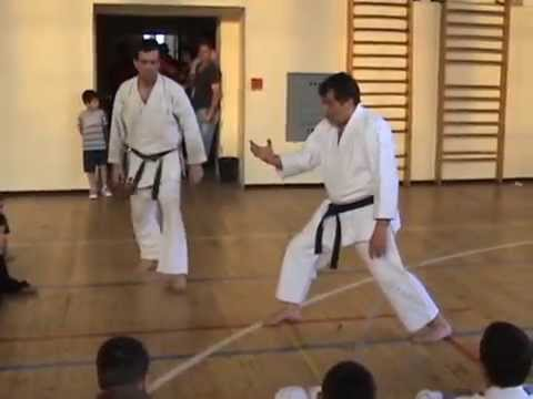 Karate seminars with sensei Colin Putt